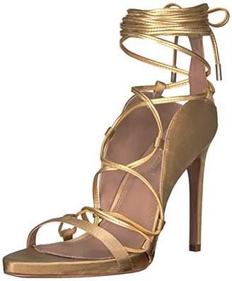 BCBGMAXAZRIA Women's Esme Lace Up Sandal Sandal