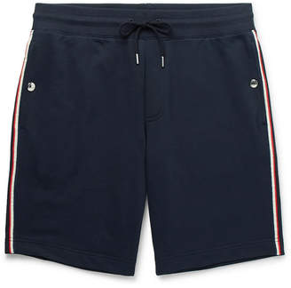 Moncler Loopback Cotton-Jersey Drawstring Shorts