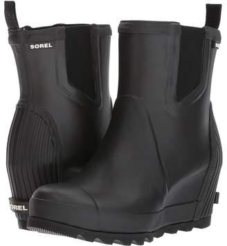 Sorel Joan Rain Wedge Chelsea Women's Waterproof Boots