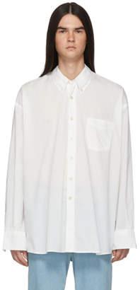 Our Legacy White Borrowed BD Shirt
