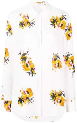 A.L.C. floral blouse
