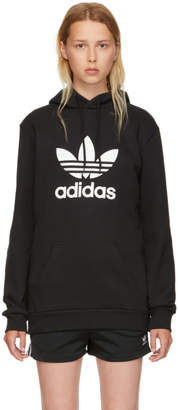 adidas Black Warm-Up Hoodie