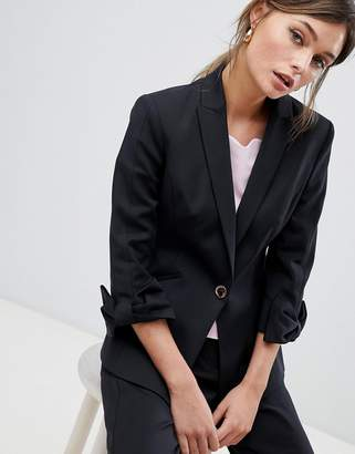 Ted Baker Tailored Blazer with Bow Cuff