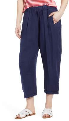 Caslon Linen Crop Pants