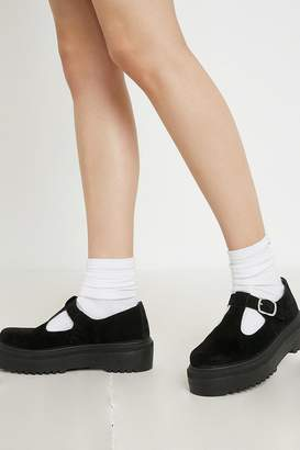 Urban Outfitters Cameron Faux Suede T-Bar Shoe