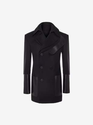 Alexander McQueen Double Faced Pea Coat