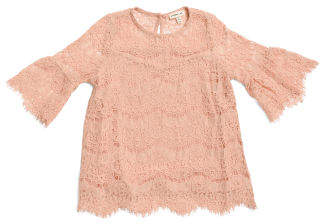 Little Girls Lace Top