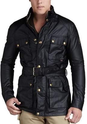 Belstaff Roadmaster Belted Jacket, Black