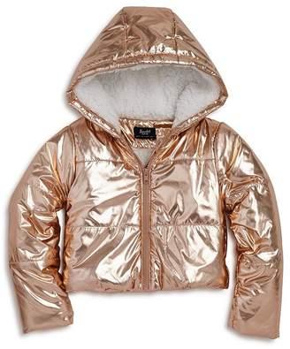 9eb73400b Bardot Junior Girls' Alexa Metallic Puffer Coat - Big Kid