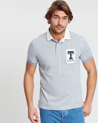 Tommy Hilfiger Structured Rugby Regular Polo