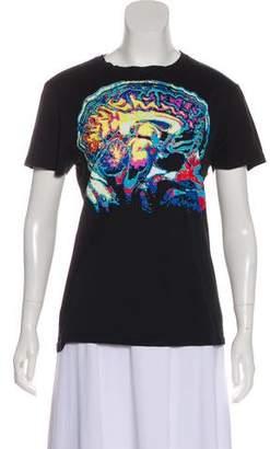 Christopher Kane Graphic Crew Neck T-Shirt