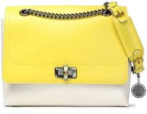 Lanvin Two-Tone Leather Shoulder Bag