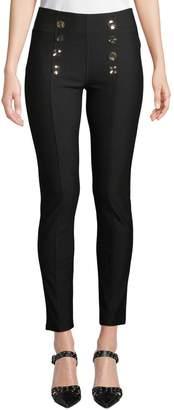 Neiman Marcus High-Rise Sailor Pants