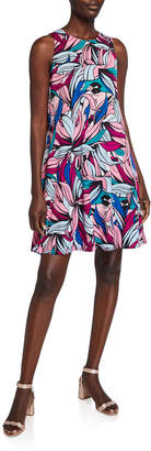 Pappagallo The Gwen Banana Leaves Dress