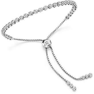 Bloomingdale's Diamond Bezel Tennis Bolo Bracelet in 14K White Gold, 1.20 ct. t.w. - 100% Exclusive