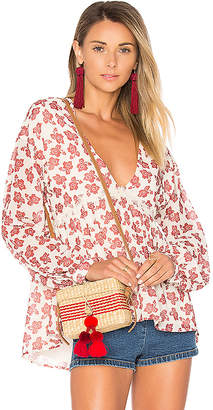 Tularosa Keegan Blouse in Ivory $158 thestylecure.com