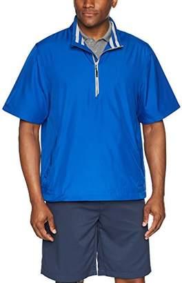 Cutter & Buck Men's Water Resistant Twill Nine Half Zip Lightweight Jacket