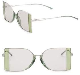 Calvin Klein 205 W39 NYC Rectangle Sunglasses