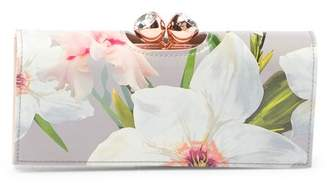 Ted Baker Lavelle Chatsworth Bloom Bobble Matinee Leather Wallet