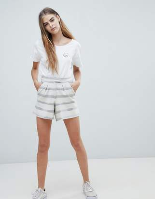 NATIVE YOUTH striped shorts