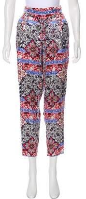 L'Agence High-Rise Silk Pants w/ Tags