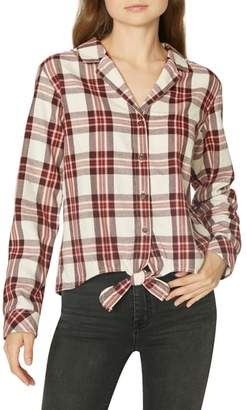Sanctuary Colton Plaid Top