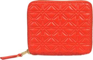 Comme des Garcons Embossed Pattern a Purse