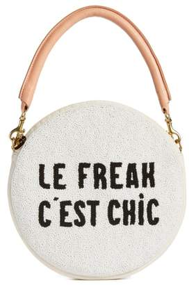 Clare Vivier Le Freak Beaded Circle Clutch