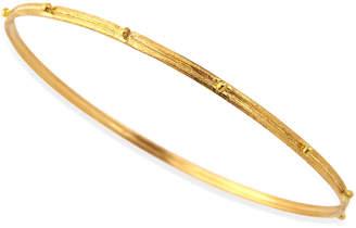 Armenta 18k Gold Granulated Bangle