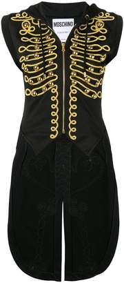 Moschino embroidered military tailcoat