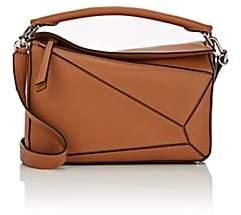 Loewe Women's Puzzle Medium Leather Shoulder Bag - Beige, Tan
