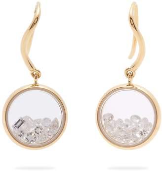 Aurelie Bidermann FINE JEWELLERY Chivor 18kt gold & diamond earrings