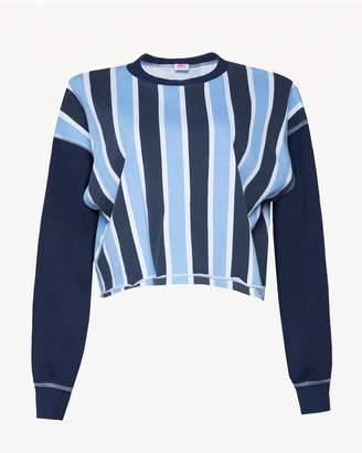 Juicy Couture JXJC 1988 Juicy Logo Striped Terry Pullover