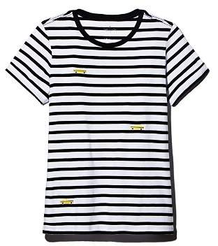 Kate Spade Tiny Taxi Striped Tee