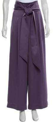 Aq/Aq High-Rise Wide-Leg Pants Purple High-Rise Wide-Leg Pants