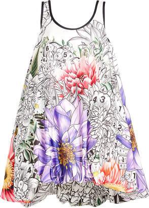Mary Katrantzou STYLEBOP.com EXCLUSIVE Paint By Numbers Iris Dress