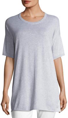Eileen Fisher Half-Sleeve Organic Peruvian Cotton Tunic
