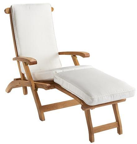 Steamer Folding Chaise