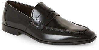 Bruno Magli Calabria Black Leather Oxfords