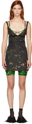 Charlotte Knowles Multicolor Short Skink Dress
