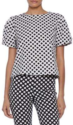 Alessia Short-Sleeve Cotton Top