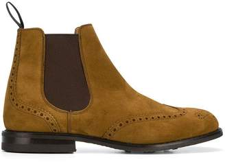Church's Chelsea brogue boots
