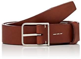 Felisi Men's Thin-Buckle Leather Belt