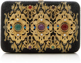 Judith Leiber Couture Acolye Crystal-Embellished Clutch