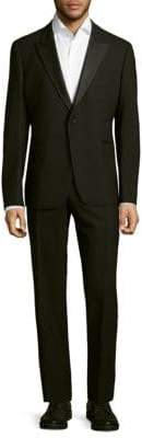 Armani Collezioni Notch Buttoned Suit