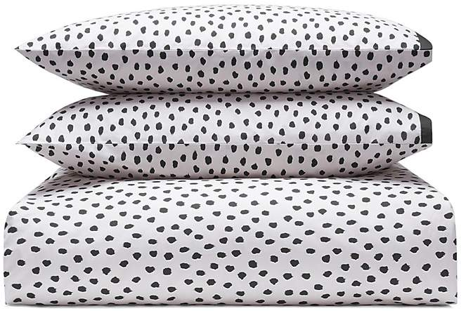Flamingo Dot Duvet Cover Set, Twin
