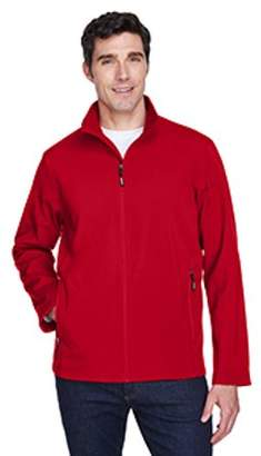 Ash City - Core 365 Men's Cruise Two-Layer Fleece Bonded Soft Shell Jacket - CLASSIC RED 850 - S 88184
