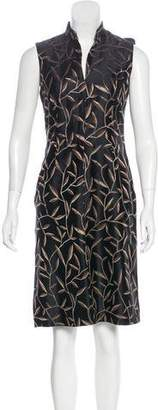 Prada Patterned Silk Dress