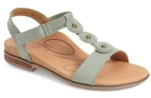 Aetrex 'Sharon' T-Strap Sandal
