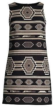 Alice + Olivia Women's Clyde A-Line Shift Dress